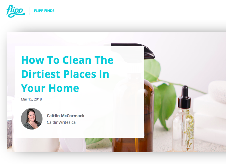 How to Clean the Dirtiest Places in Your Home