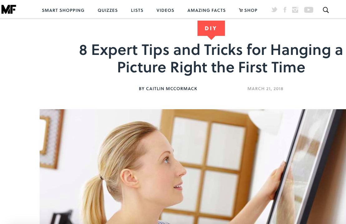 8 Expert Tips and Tricks for Hanging a Picture Right the First Time