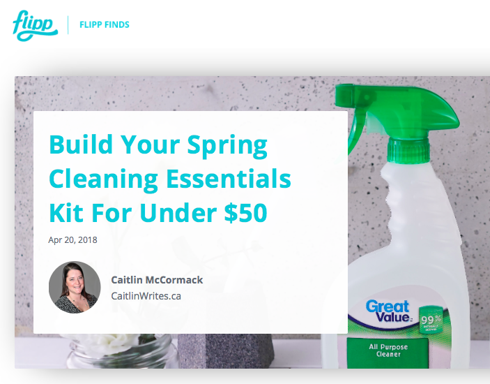 Build Your Spring Cleaning Essentials Kit for Under $50