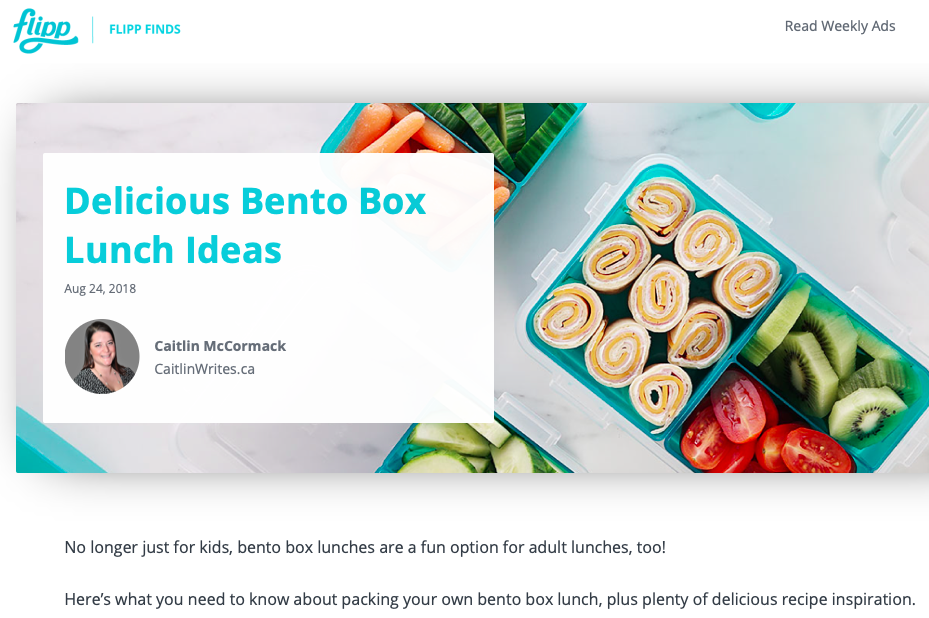Delicious Bento Box Lunch Ideas