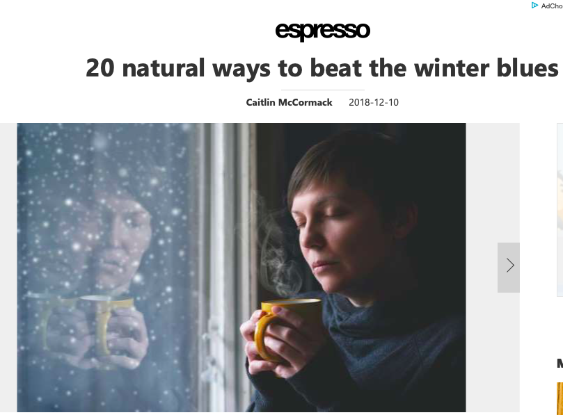 20 natural ways to beat the winter blues