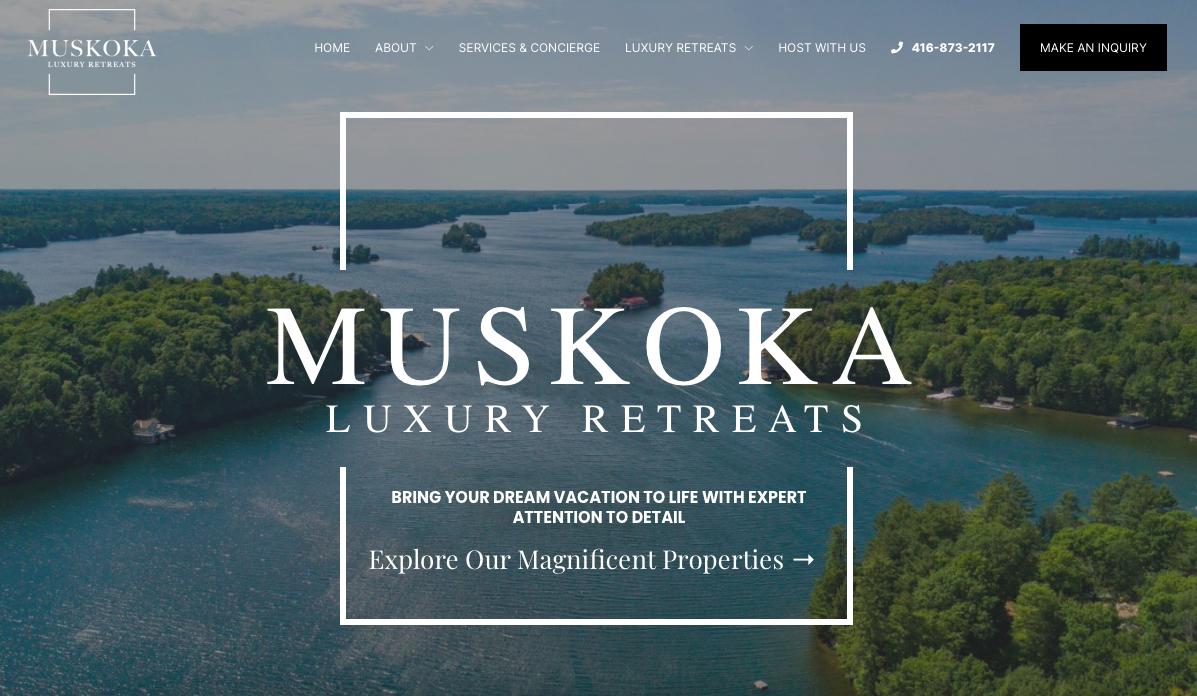 Muskoka Luxury Retreats