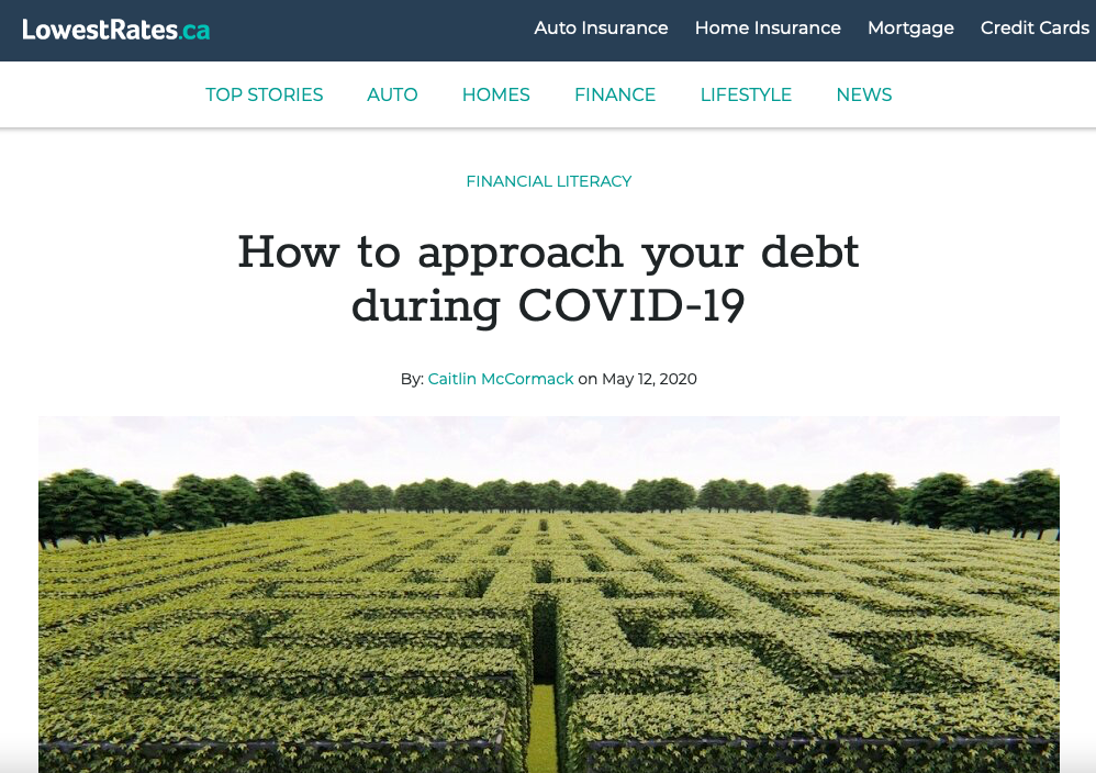 How to approach your debt during COVID-19