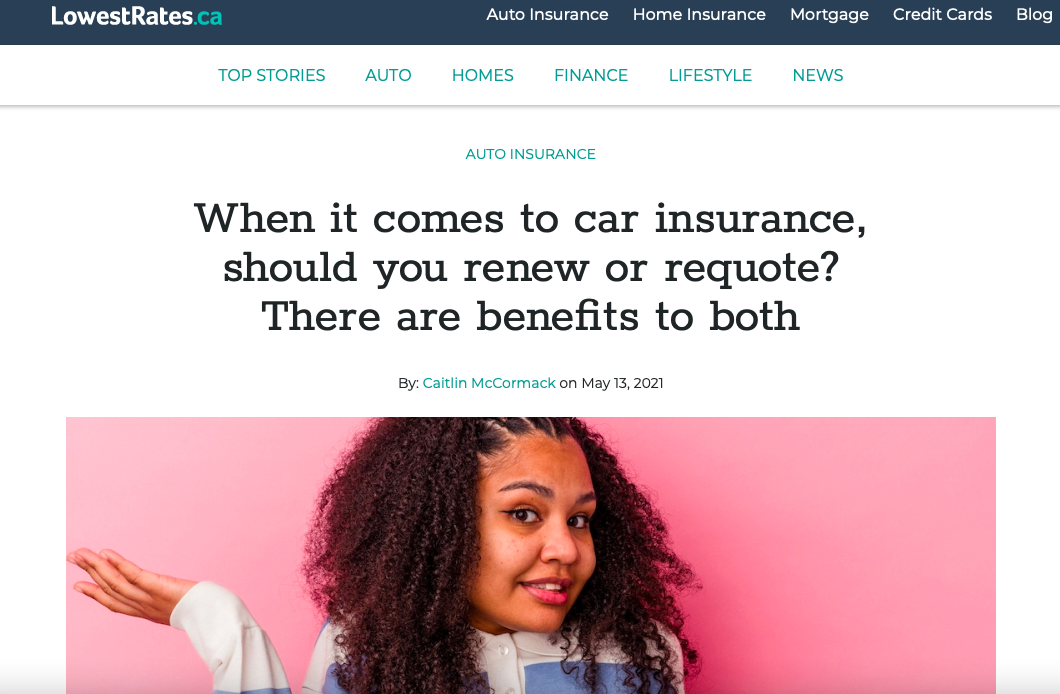 When it comes to car insurance, should you renew or requote? There are benefits to both